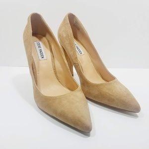 Steve Madden Tan/ Camel Calista Pump Size 8.5